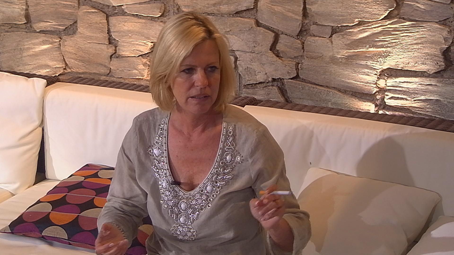 Anja Schütte lästert