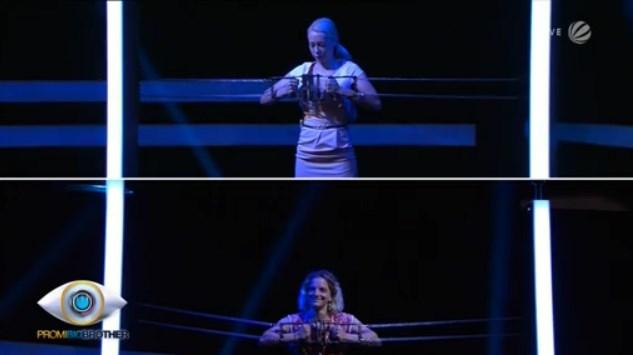 Nina Kristin gegen Judith Hildebrandt