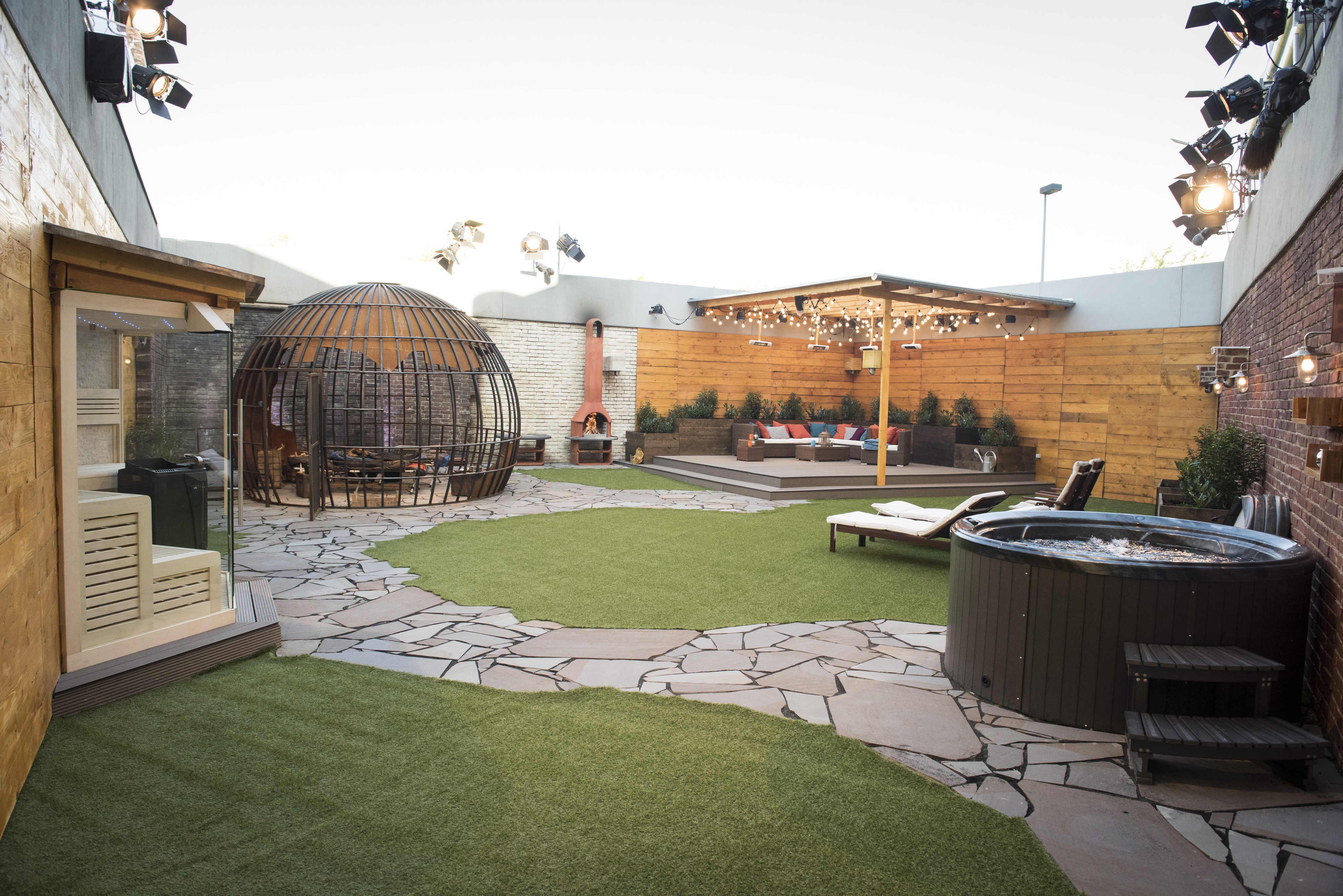 Big Brother 2015 Haus Garten Zuber