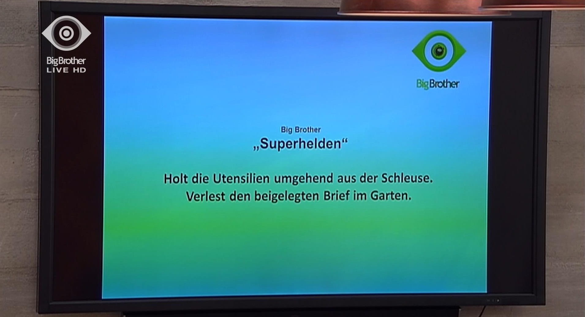 Match Superhelden Big Brother 2015