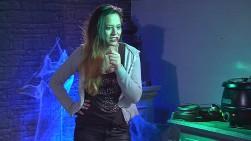 Maria Halloween Big Brother 2015