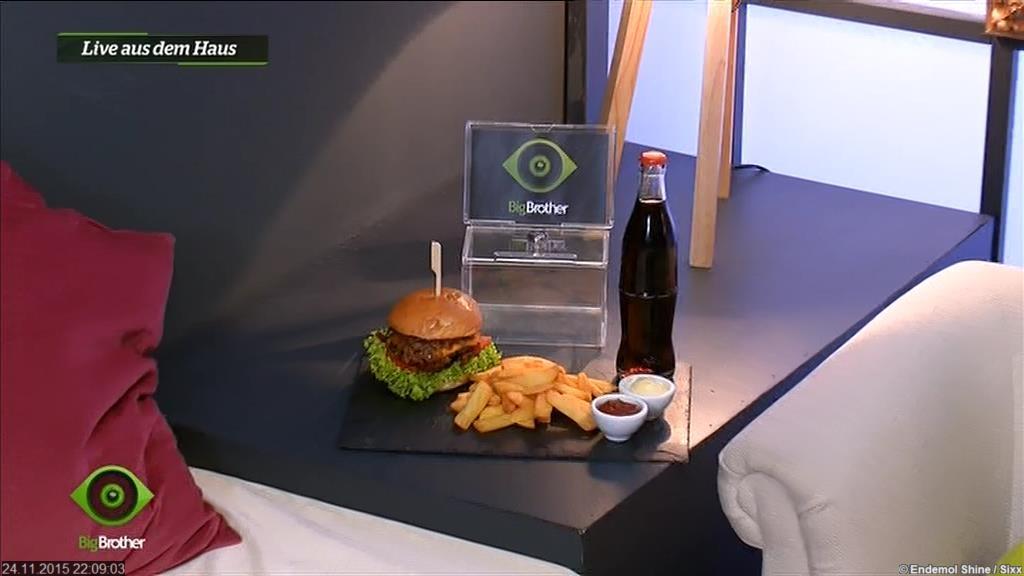 Big Brother 2015 Burger