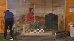 Big Brother Folge 13.12. Bianca Sauna