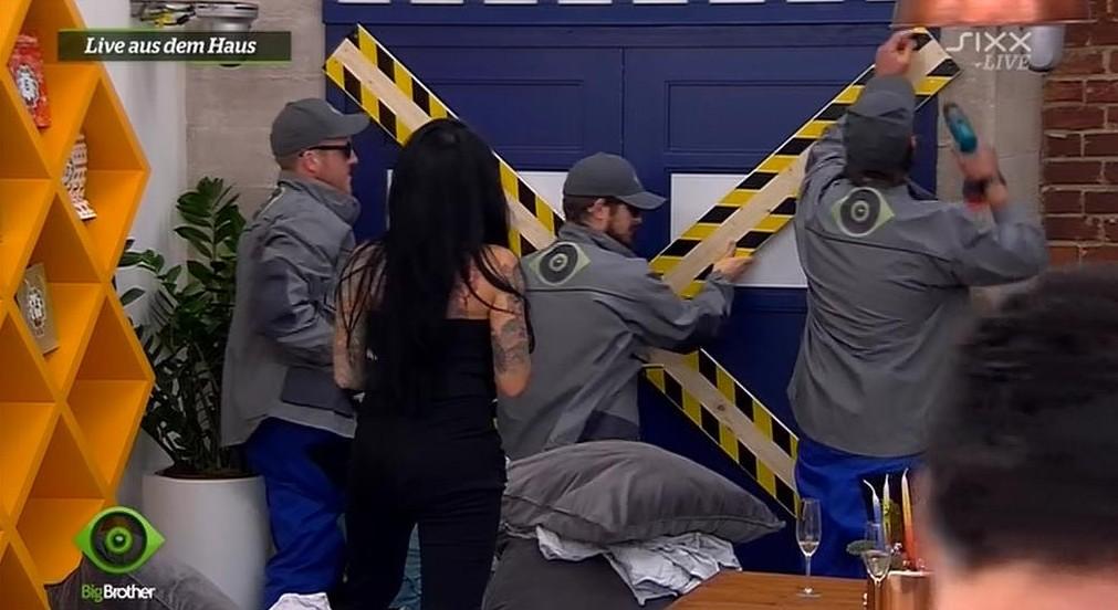 Big Brother 2015 Schlafzimmer geschlossen