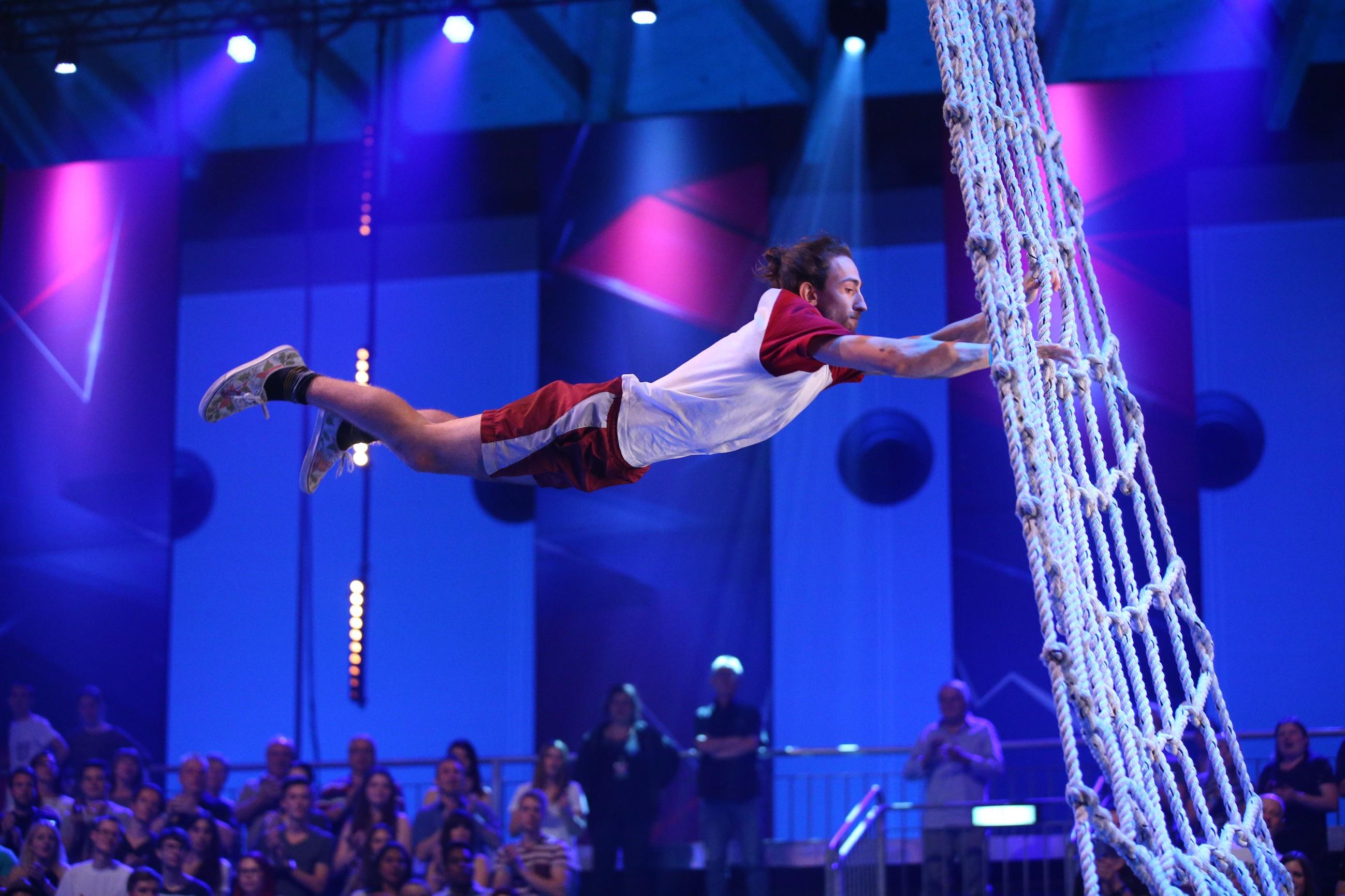Der Athlet Max Sprenger aus Bergisch-Gladbach - Foto: RTL / Stefan Gregorowius