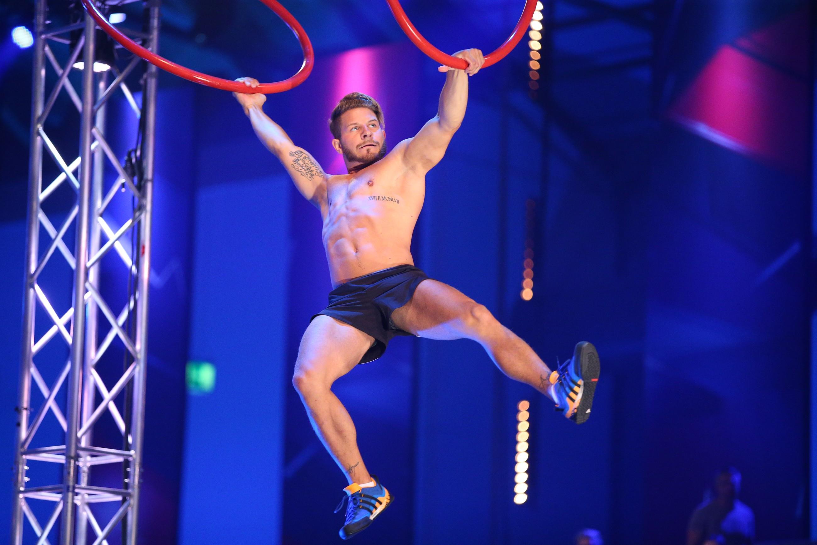 Der Athlet Mirco Osting aus Köln - Foto: RTL / Stefan Gregorowius