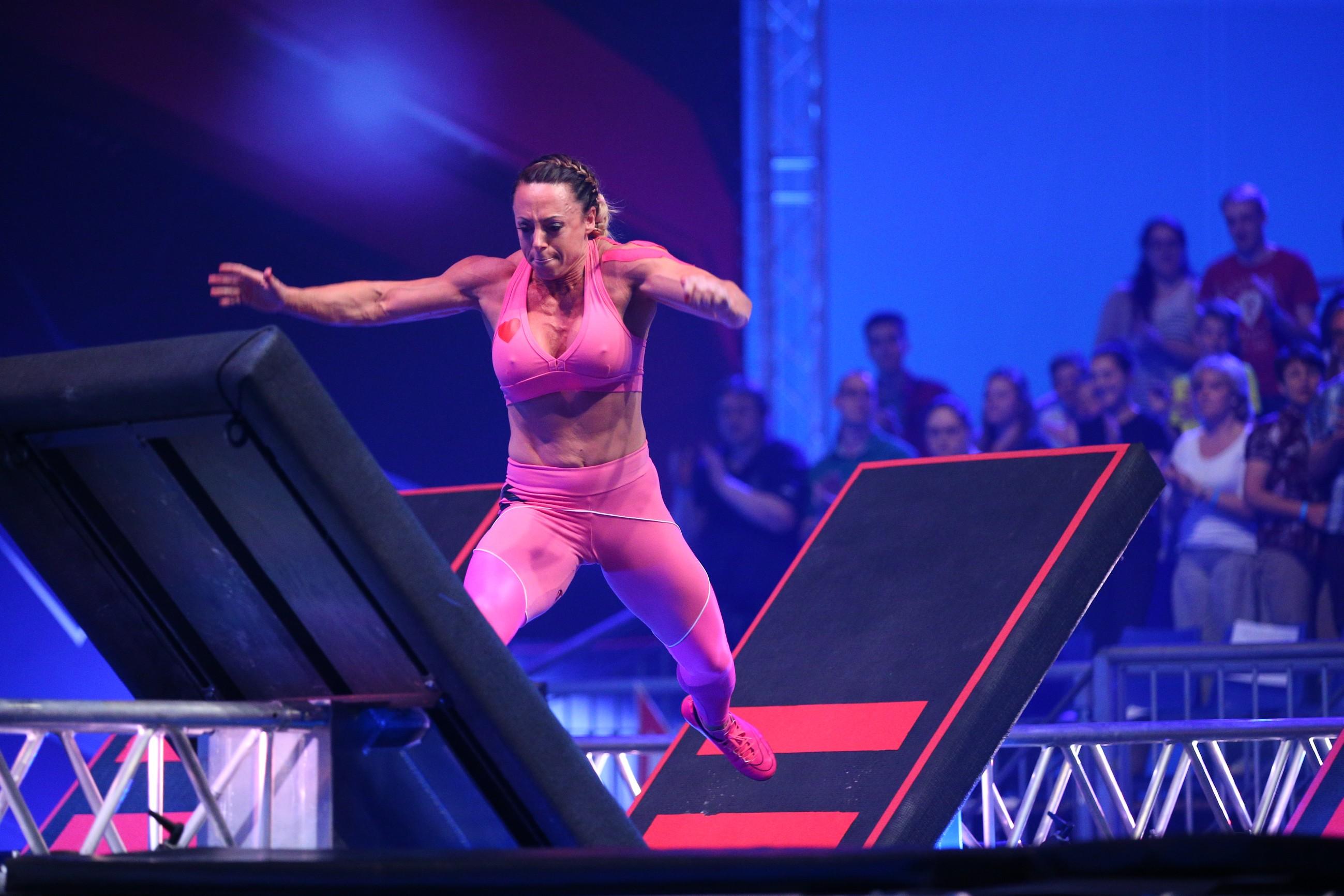 Die Athletin Nathalie Schmidt aus Chemnitz - Foto: RTL / Stefan Gregorowius