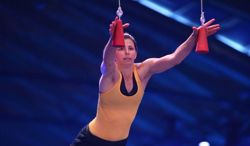 Die Athletin Amelie Hundrieser aus Berlin - Foto: RTL / Stefan Gregorowius