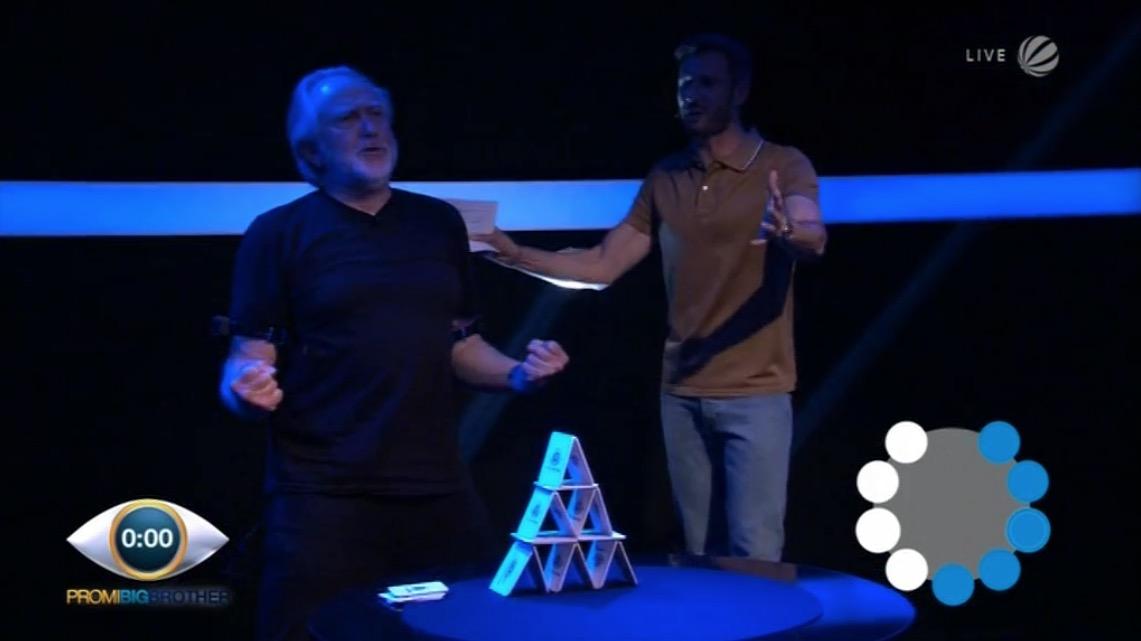 Joachim Witt Promi Big Brother 2016 Live Duell 06.09.2016