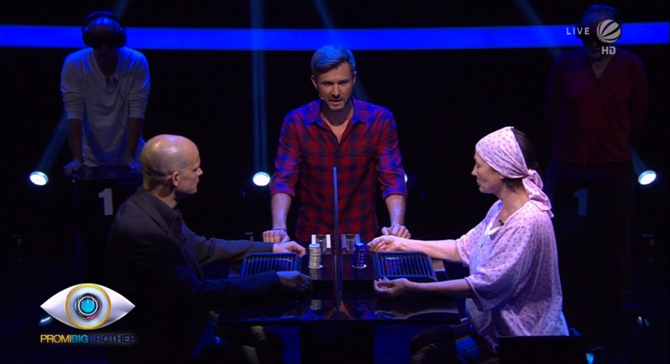 Promi BIg Brother 2016 Duell Poker Wechsel