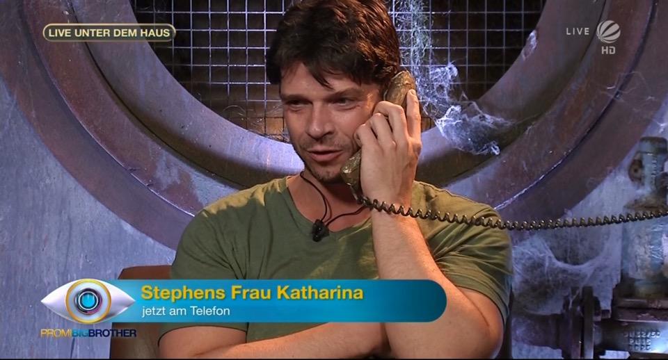 Stephen Dürr Telefonat