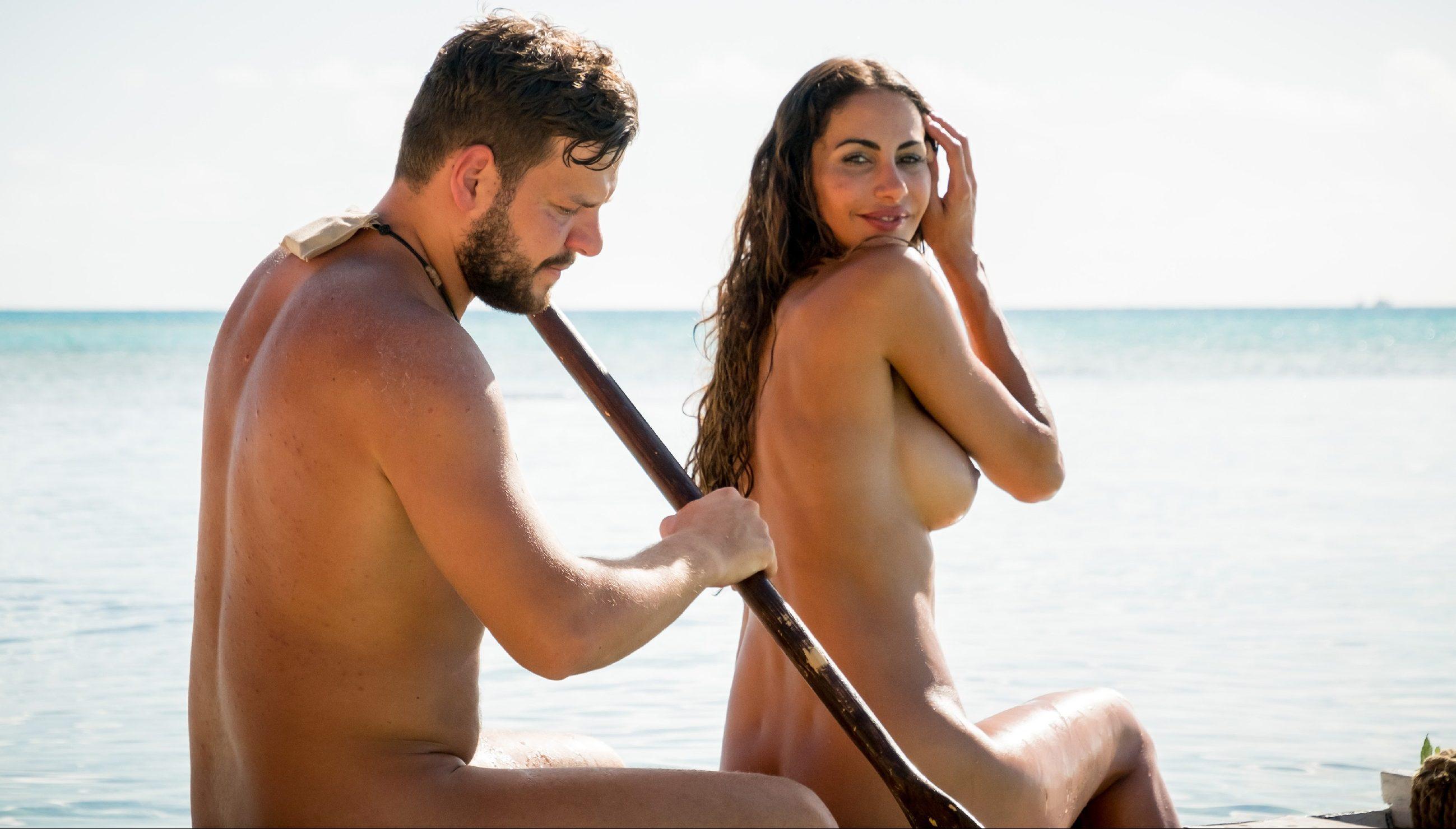 Kushtrim und Janina Youssfian auf dem Weg zu Insel der Liebe