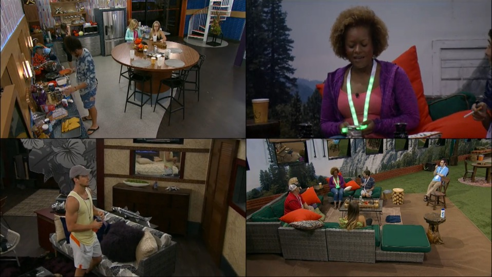 Big Brother USA Safety Ceremony