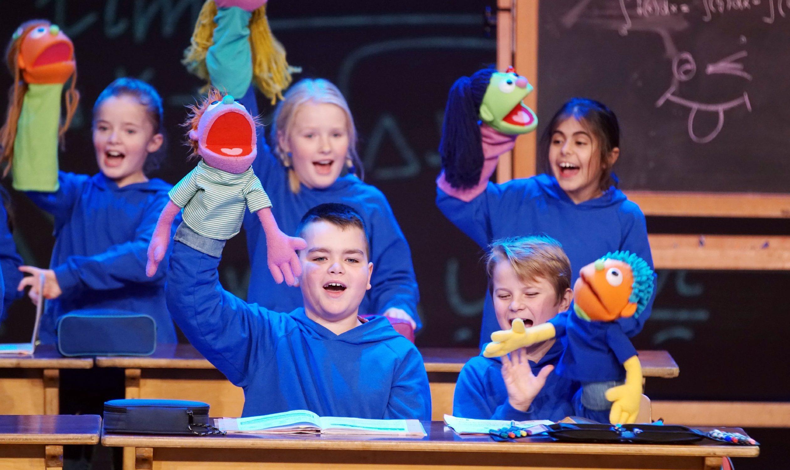 "Der ""Blue Voice Kindershowchor"" Foto: RTL / Stefan Gregorowius"