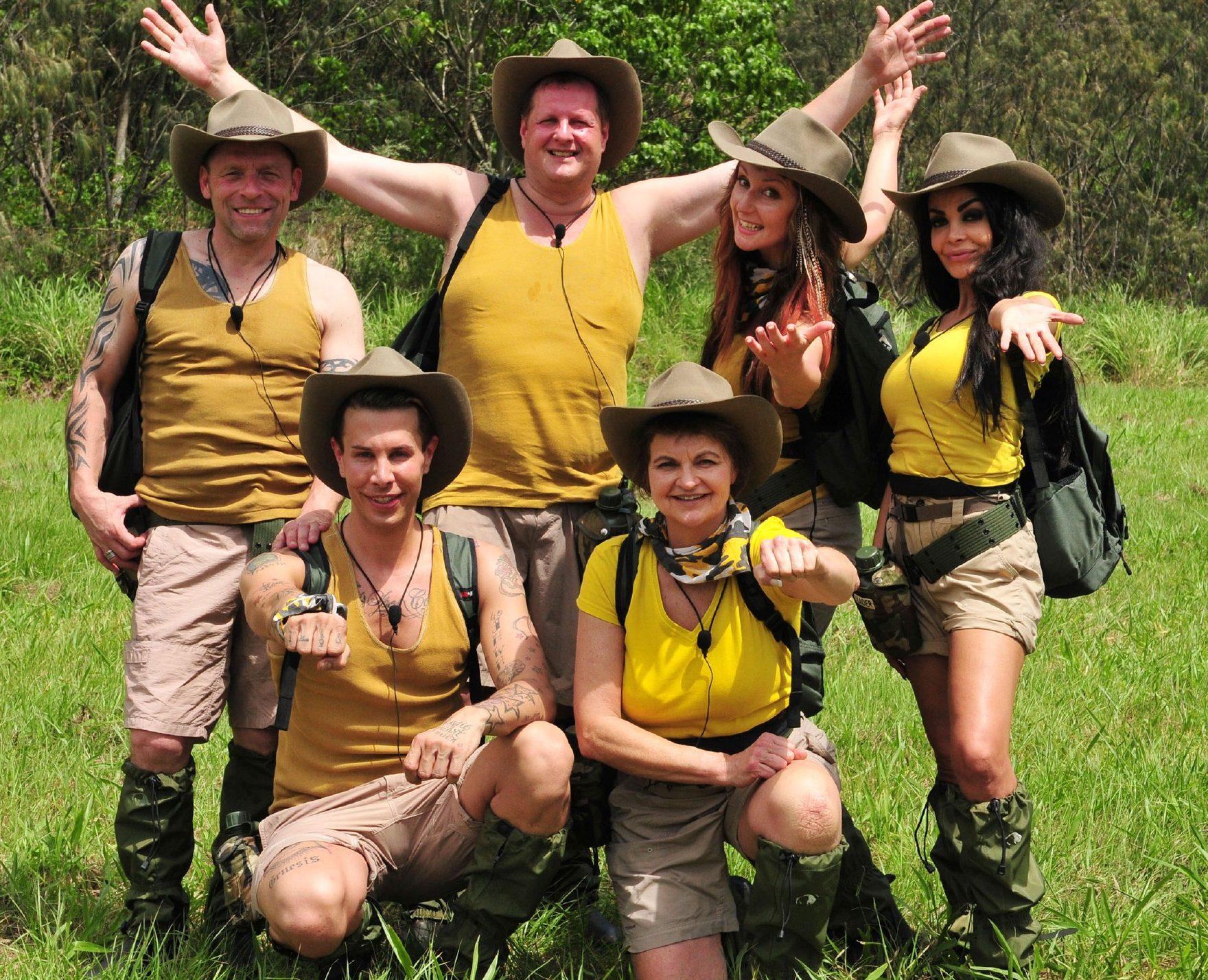 """Das Team """"Snake Rock"""" Foto: RTL / Stefan Menne"""