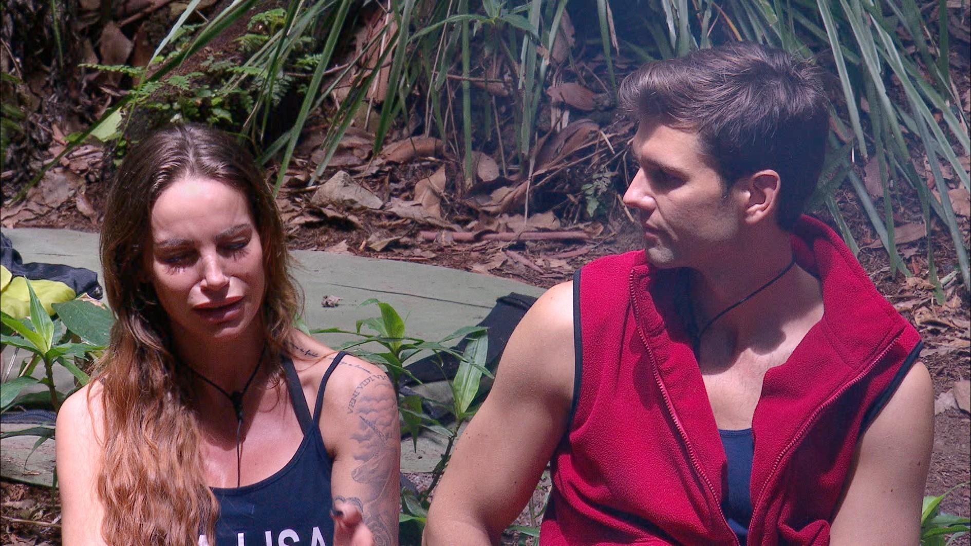 Dschungelcamp 2017: Gina-Lisa weint