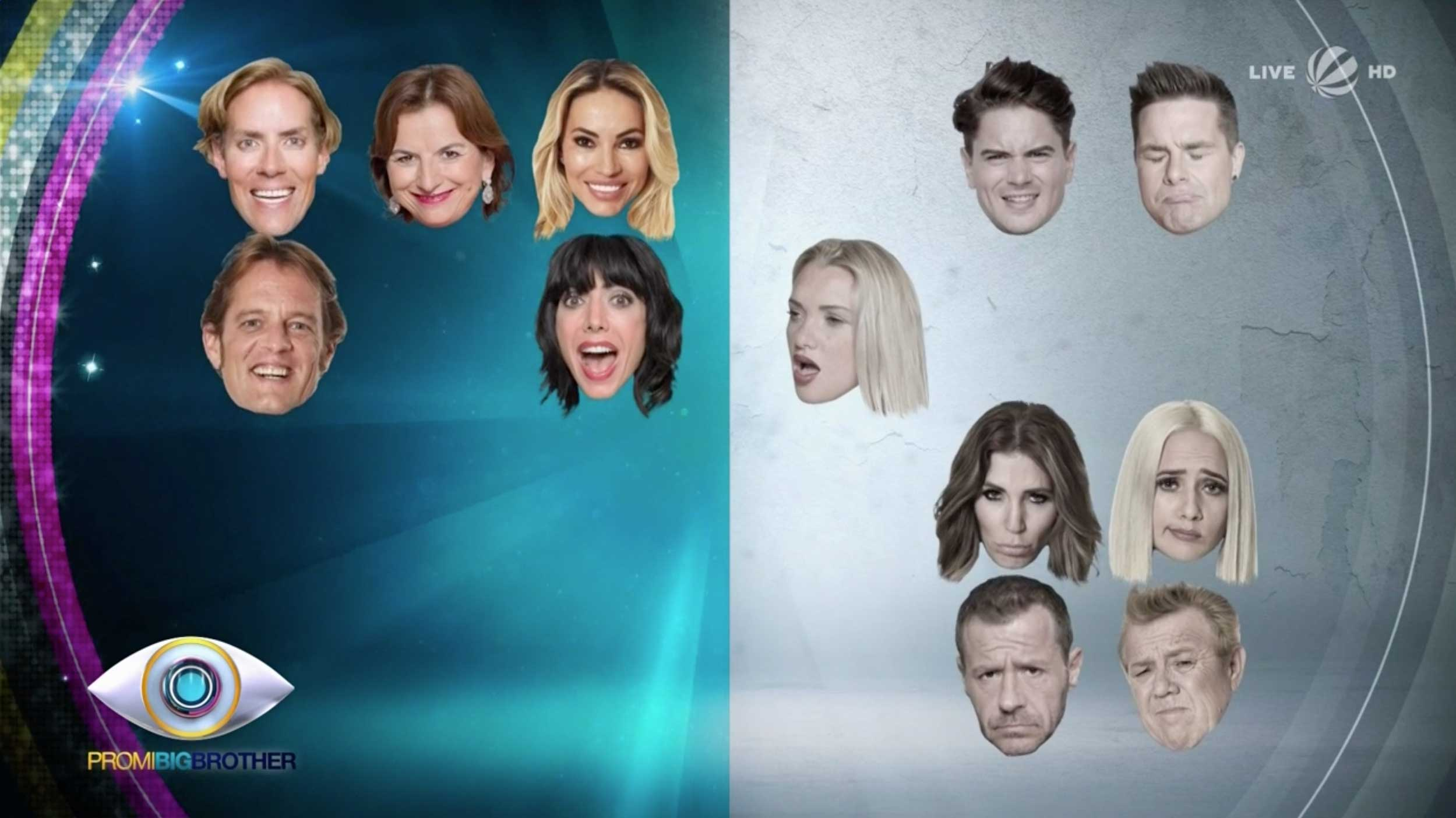 Promi Big Brother 2017 Alles oder Nichts Bereiche