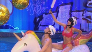 Promi Big Brother 2017 Duell Einhorn Pool Party 19.08.2017