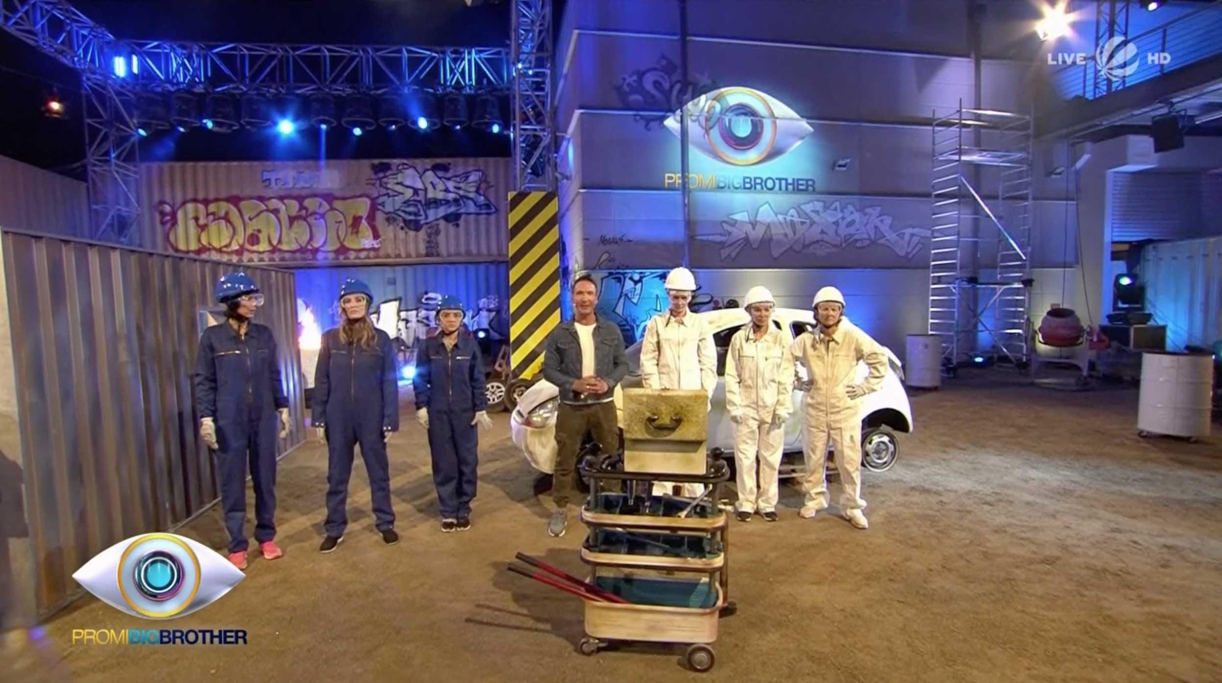 Promi Big Brother 2017 Duell Kurz und Klein
