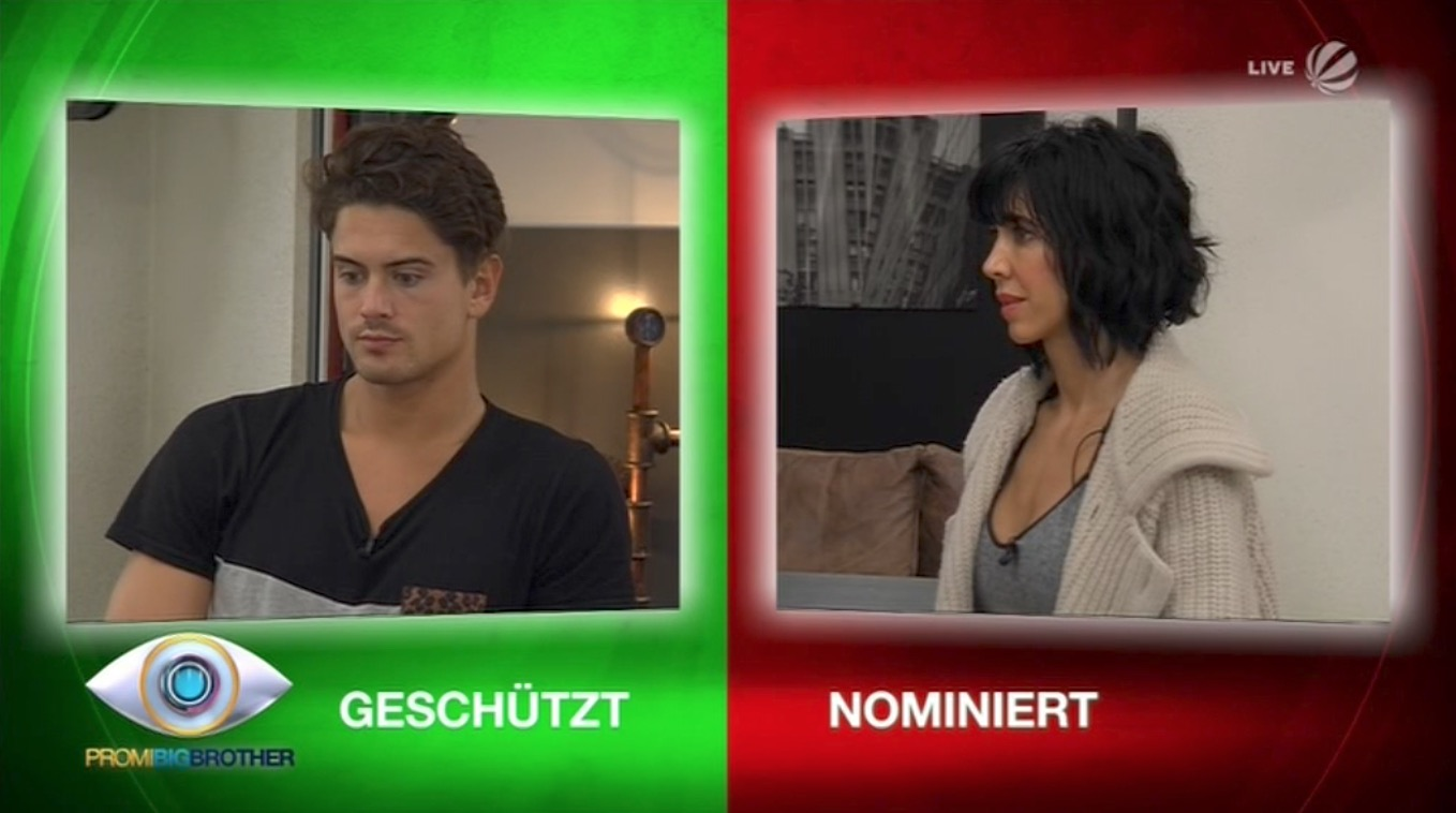 Promi Big Brother 2017 Nominierung 23.08.2017 Karten
