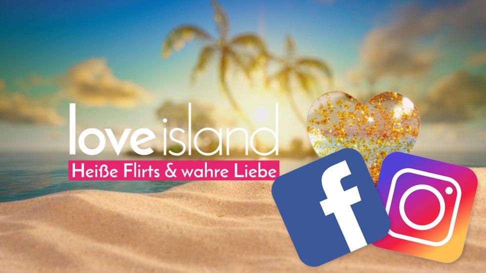 Love Island Instagram Facebook Accounts folgen Islander Elena Jan Mike