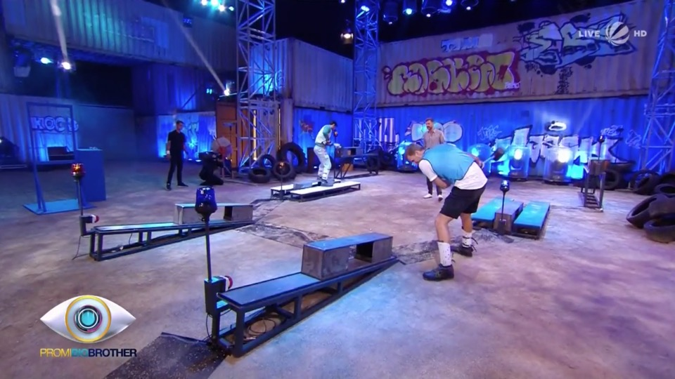 Promi Big Brother 2018 Duell Eisenblock