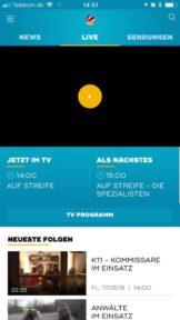 Sat1 Livestream App