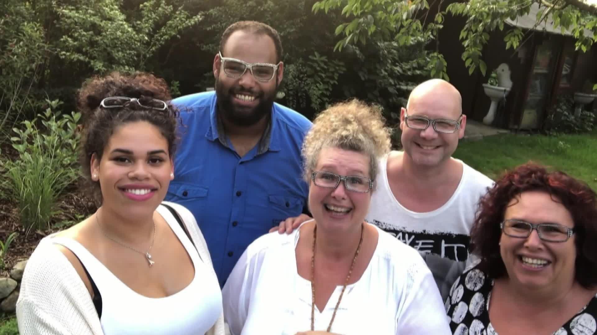 Tag 8: Die Familie von Alphonso schickt ihm herzliche Grüße auf die ...