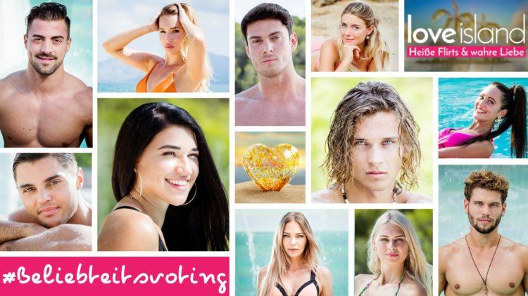 Love Island 2018 Voting Ranking Beliebtheit