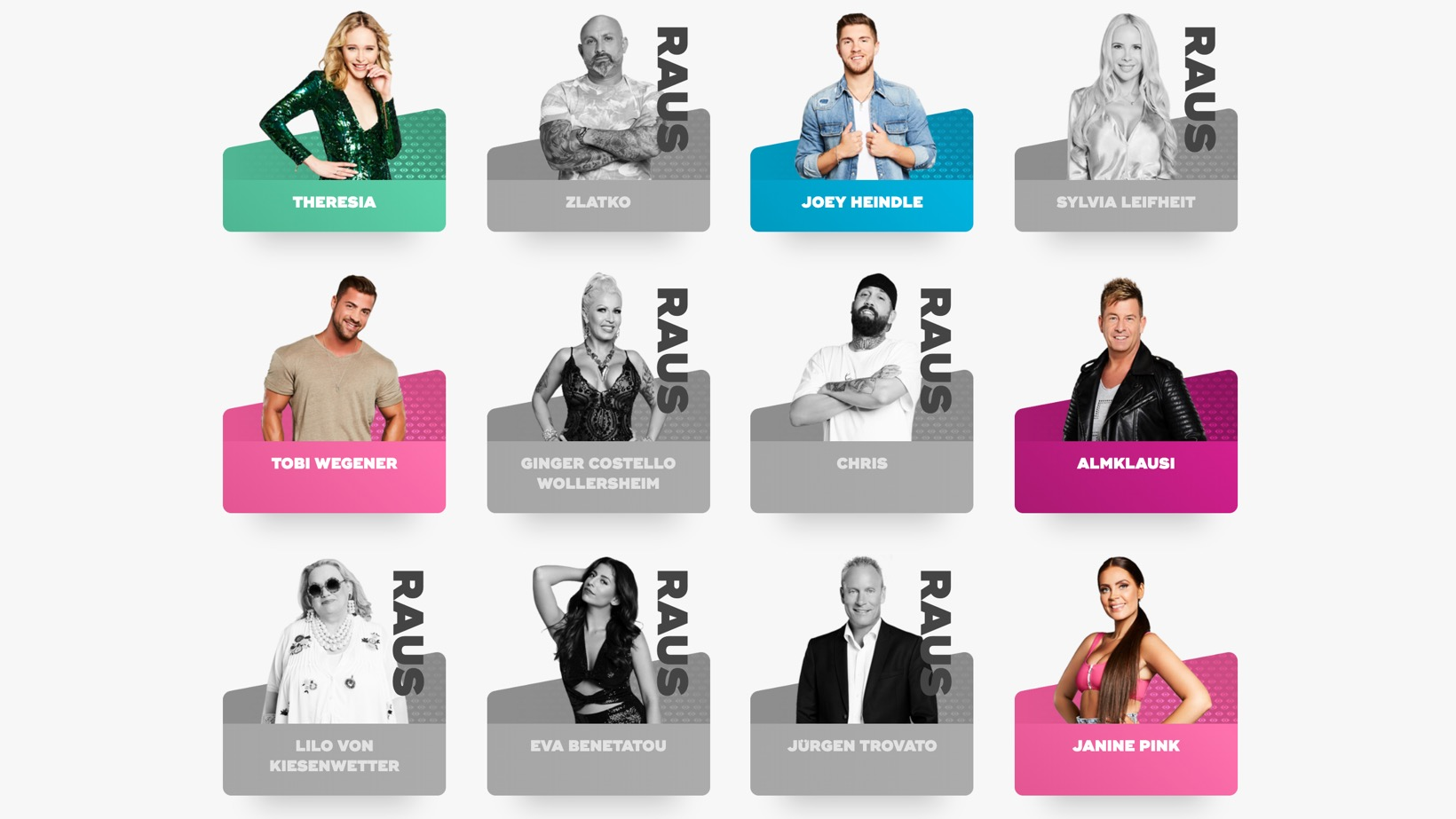 Promi Big Brother 2019 Kandidaten Halbfinale