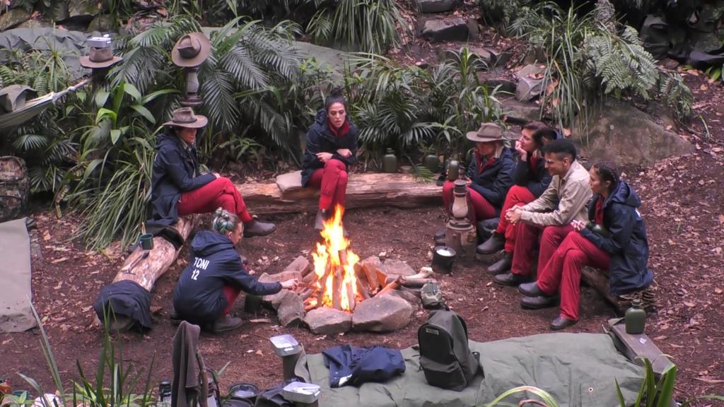 Dschungelcamp 2020 Lagerfeuer