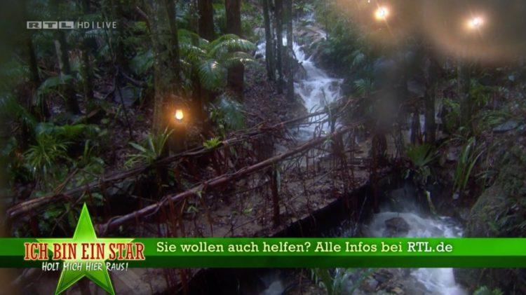 Dschungelcamp 2020 ueberflutet