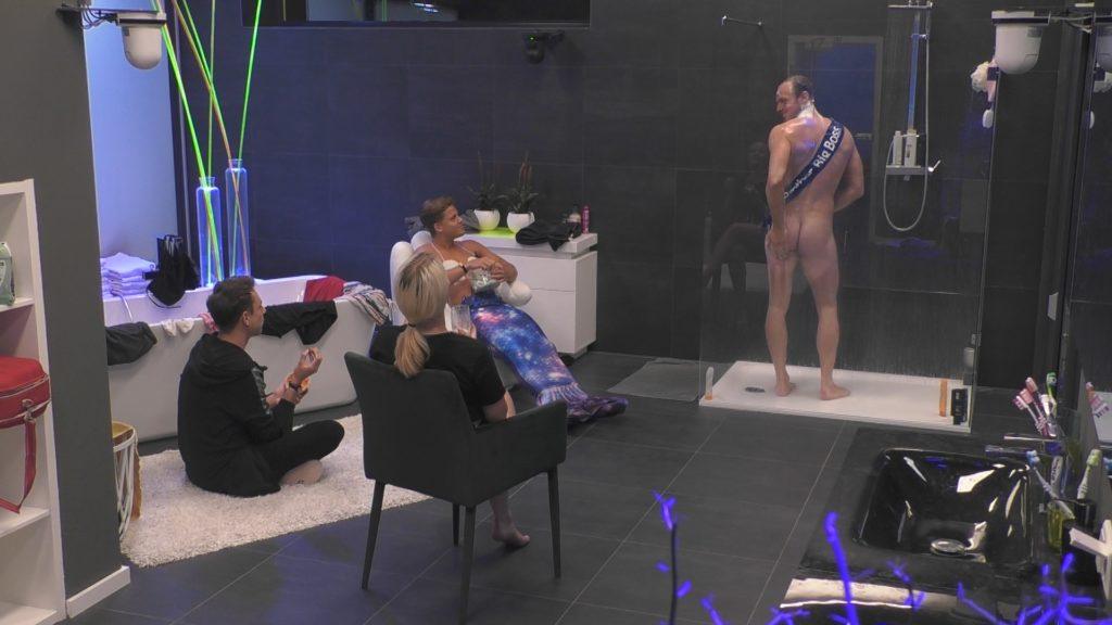 Big Brother 2020 Dusche nackt