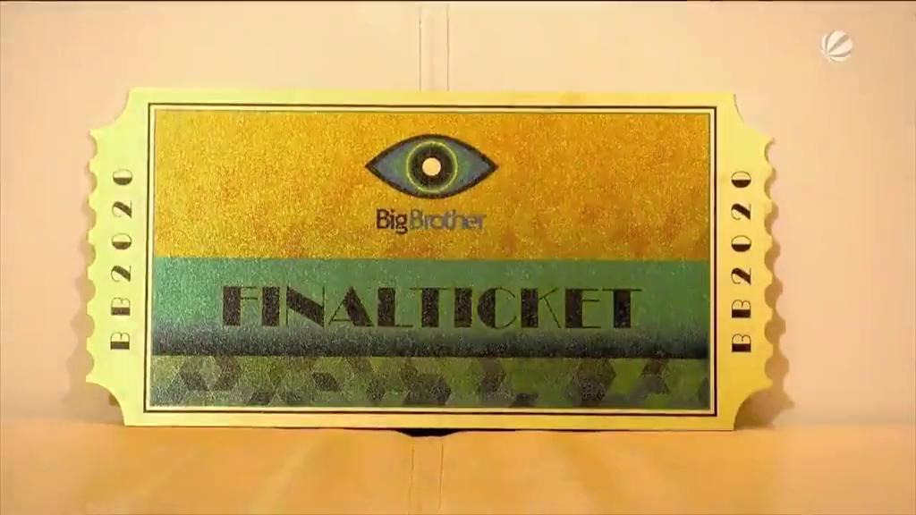 Big Brother 2020 Goldene Finalticket