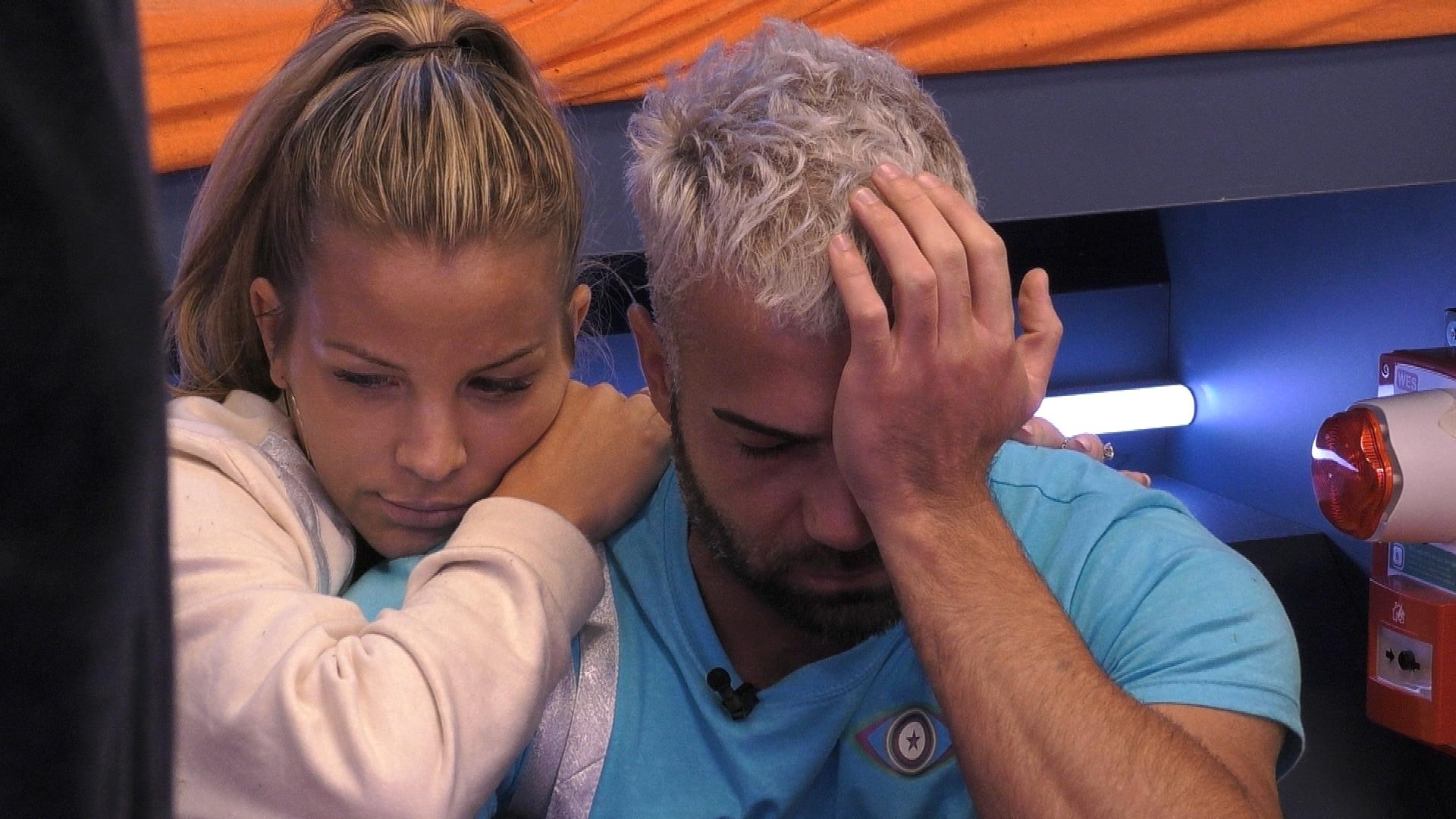 Promi Big Brother 2021 Rafi Rachek Nerven weint