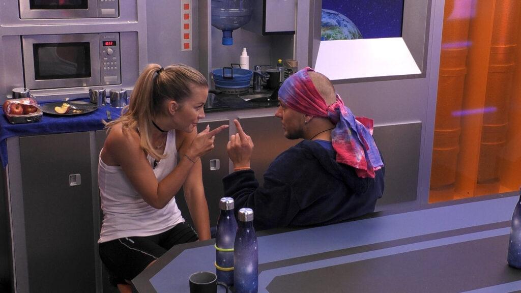 Aussprache von Ina und Danny bei Promi Big Brother 2021