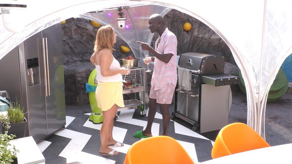 Daniela und Papis bei Promi Big Brother 2021